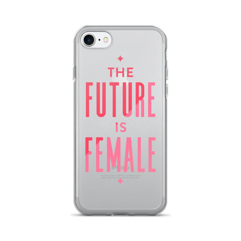 Future is Female • iPhone 7/7 Plus Case (Transparent)