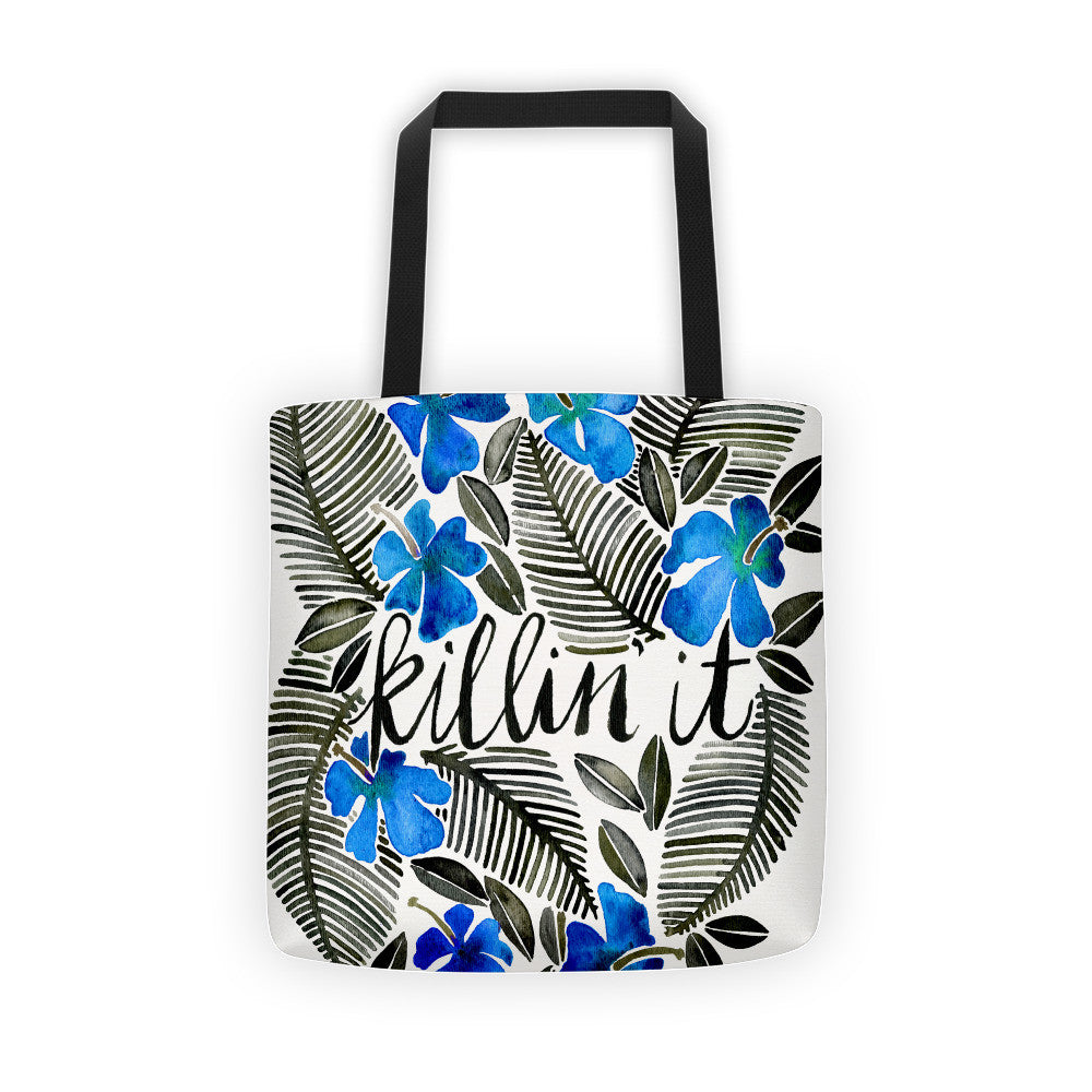 Killin' It – Navy & Blue • Tote Bag