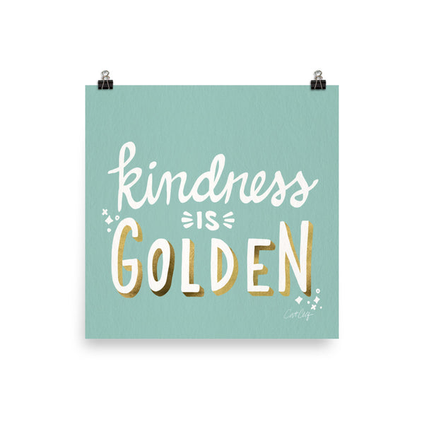 Kindness is Golden - Mint Gold