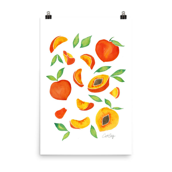 Peaches • Art Print