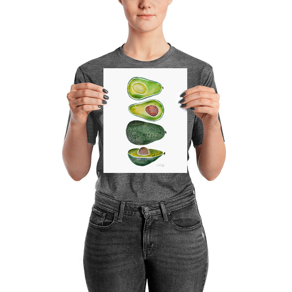 Avocado Slices • Art Print
