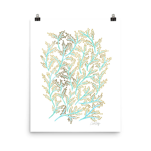 Branches - Mint & Gold