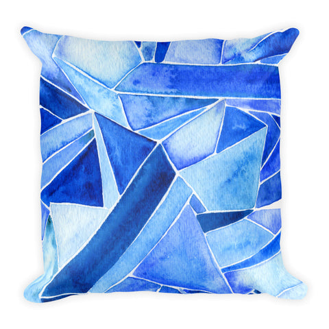 Sapphire • Square Pillow