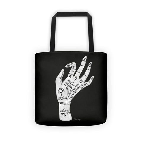 Palmistry – White Hand  •  Tote Bag