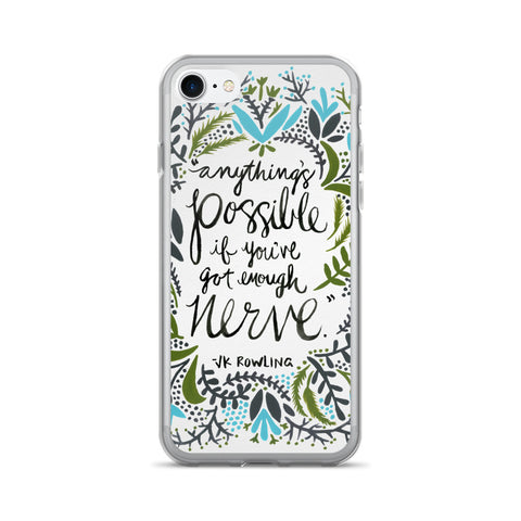 Anything's Possible – Green & Blue Palette • iPhone 7/7 Plus Case