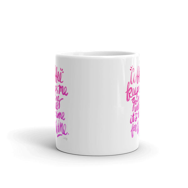 Coffee & Wine – Pink Palette  •  Mug
