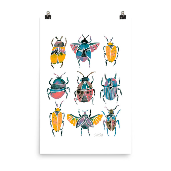 Beetle Collection - Yellow
