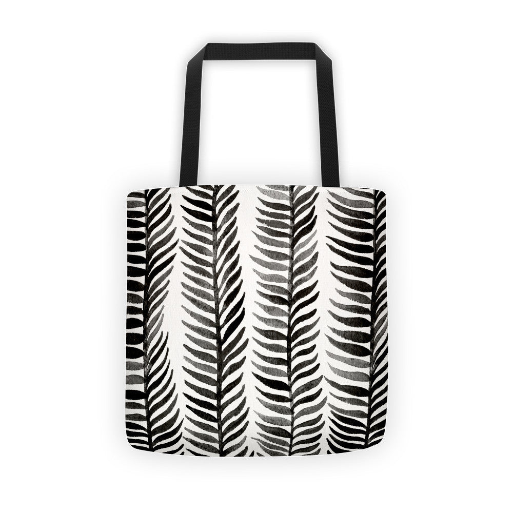 Stems – Black Palette  •  Tote Bag