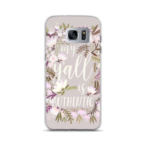 My Y'all is Authentic – Spring Palette • Samsung Case