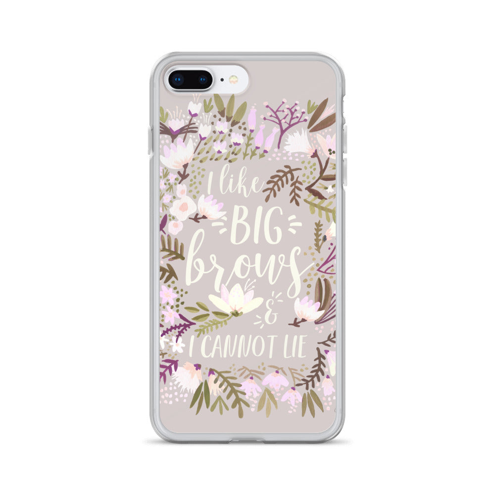 Big Brows – Spring Palette • iPhone Case