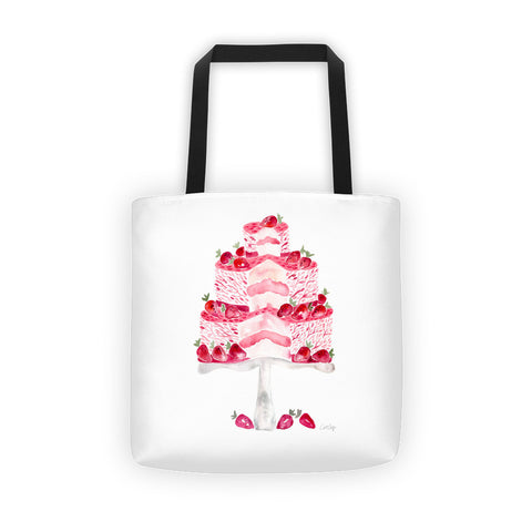 Strawberry Shortcake  •  Tote Bag