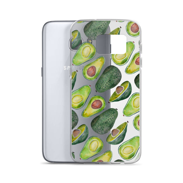 Avocado Slices • Samsung Case (transparent)