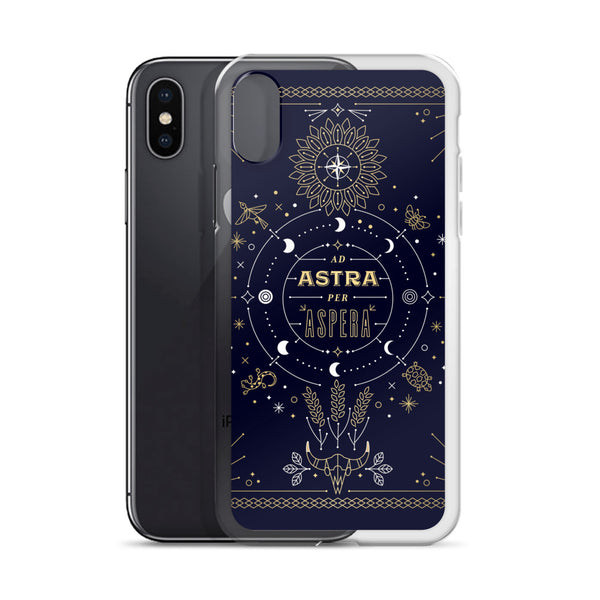 Ad Astra Per Aspera • iPhone Case
