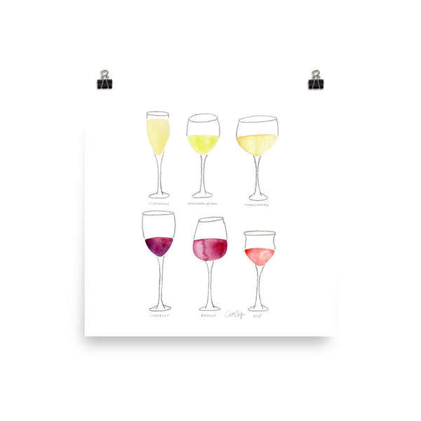 Wine Collection • Art Print