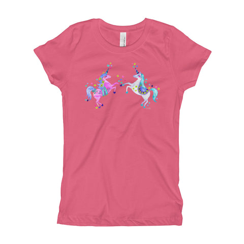 Unicorns • Girl's T-Shirt