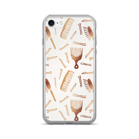 Good Hair Day – Rose Gold Palette • iPhone 7/7 Plus Case