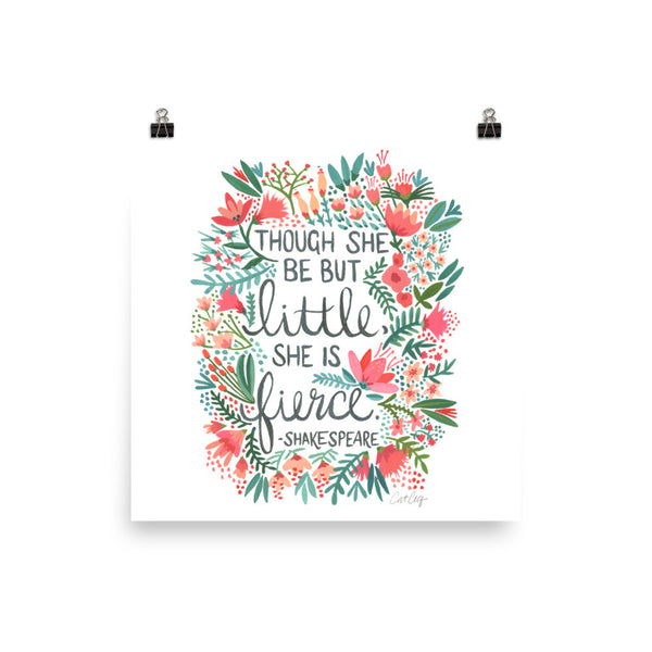 Little & Fierce • Art Print