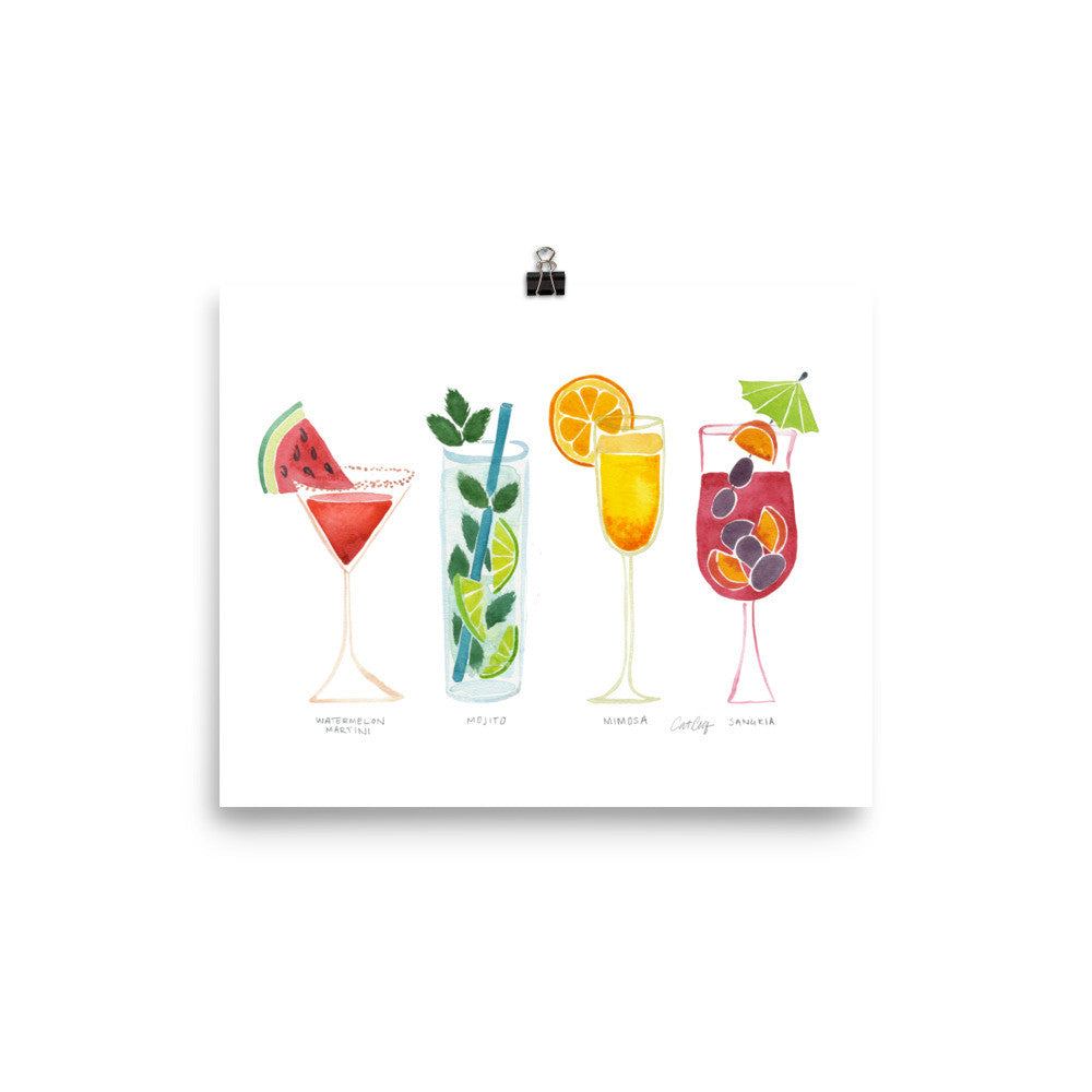 Summer Drinks • Art Print