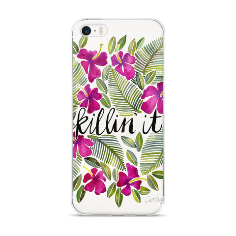 Killin' It – Magenta Palette  •  iPhone 5/5s/Se, 6/6s, 6/6s Plus Case