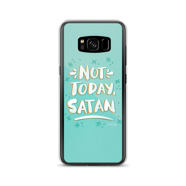 Not Today Satan – Mint Palette • Samsung Case