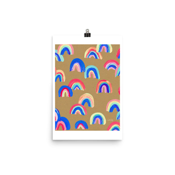 Abstract Rainbow Arcs - Kraft