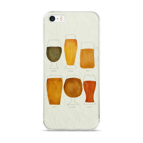 Beer Collection  •  iPhone 5/5s/Se, 6/6s, 6/6s Plus Case