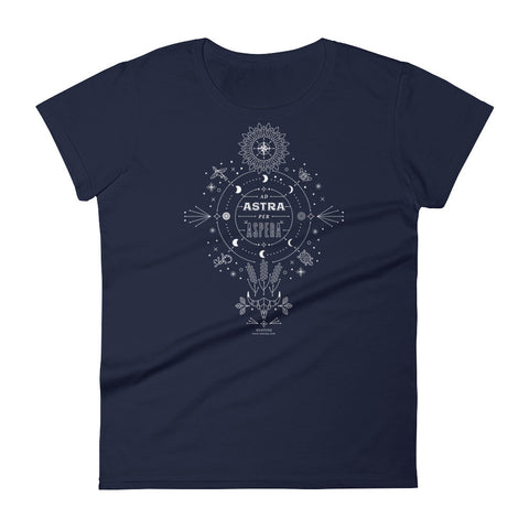 Ad Astra Per Aspera  •  Women's short sleeve t-shirt
