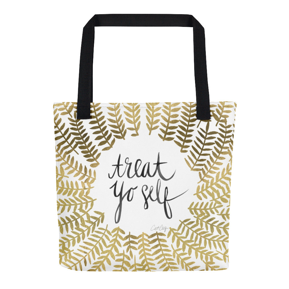 Treat Yo Self – Gold Palette • Tote Bag