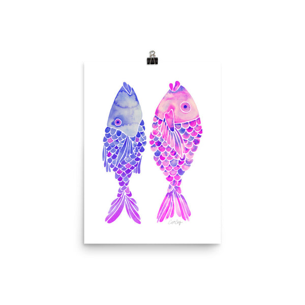 Indonesian Fish – Mermaid Palette • Art Print