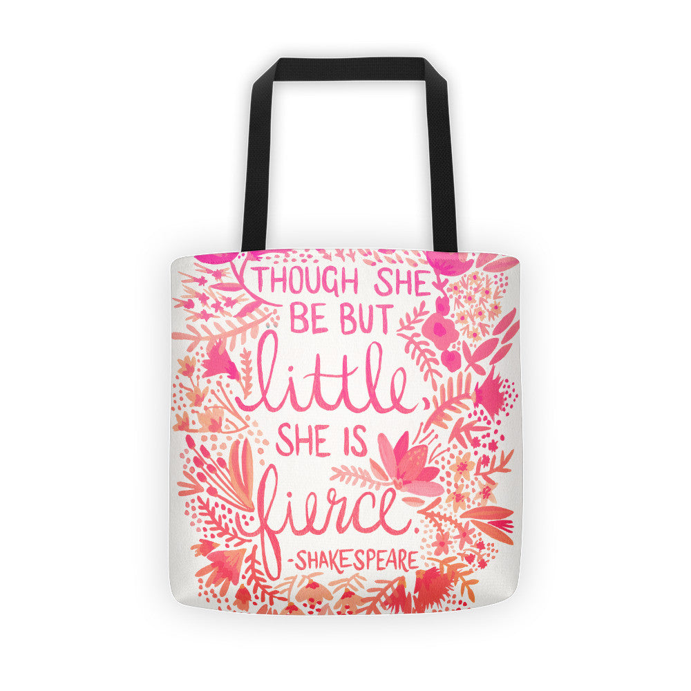 Little & Fierce – Pink Ombré Palette • Tote Bag