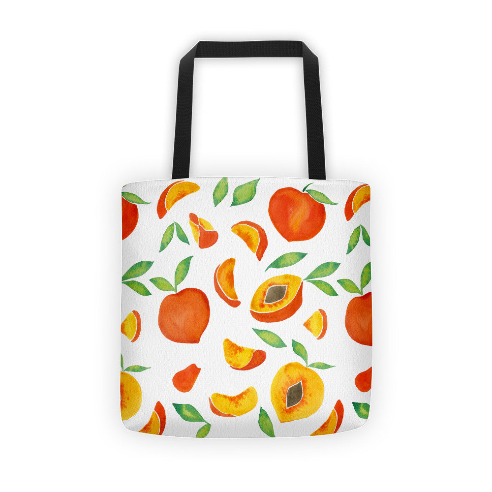 Peaches  •  Tote Bag