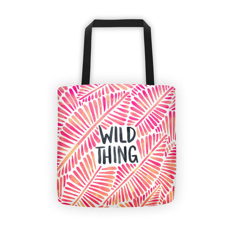 Wild Thing – Pink Palette  •  Tote Bag