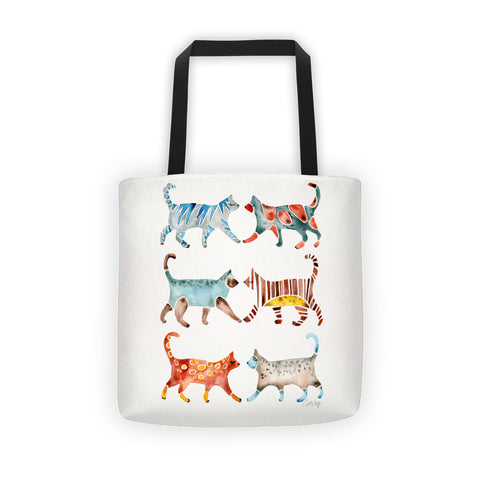 Cat Collection – Original Palette  •  Tote Bag