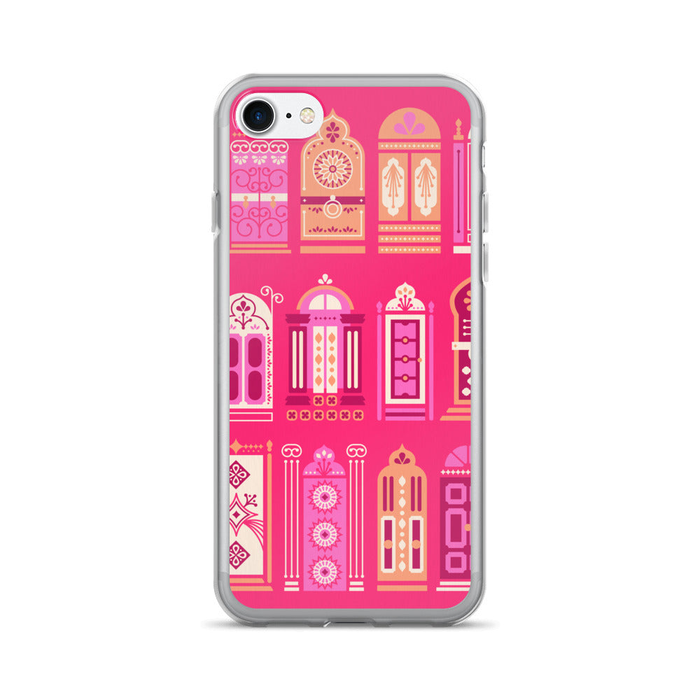 Moroccan Doors – Hot Pink Palette • iPhone 7/7 Plus Case