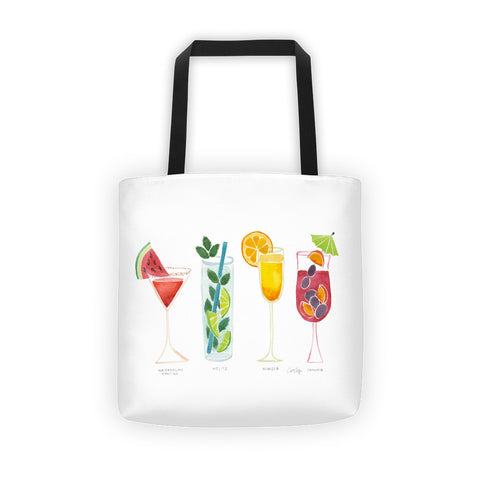 Summer Drinks • Tote Bag