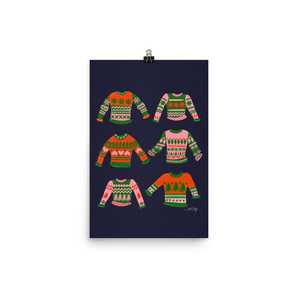 Christmas Sweaters - Green Red
