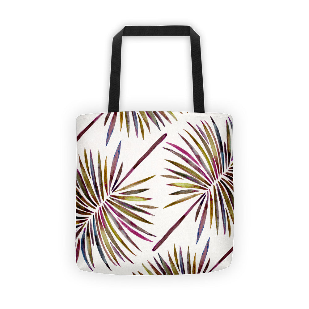 Fan Palm – Vintage Palette  •  Tote Bag