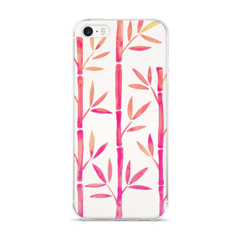 Bamboo – Pink Palette  •  iPhone 5/5s/Se, 6/6s, 6/6s Plus Case