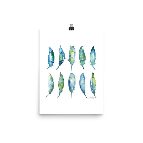 Feather Collection • Art Print