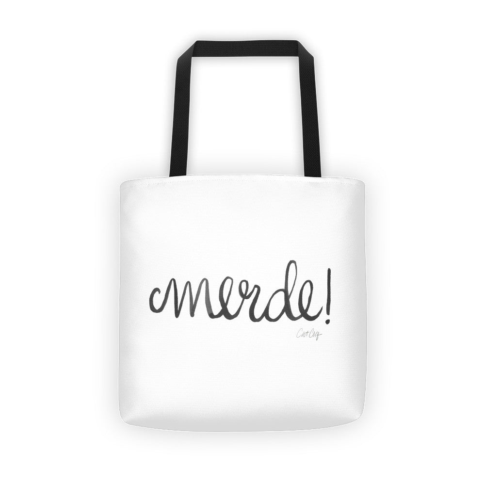 Merde – Black Ink • Tote Bag