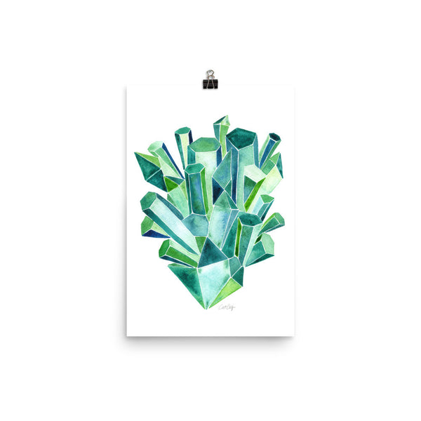 Emeralds • Art Print
