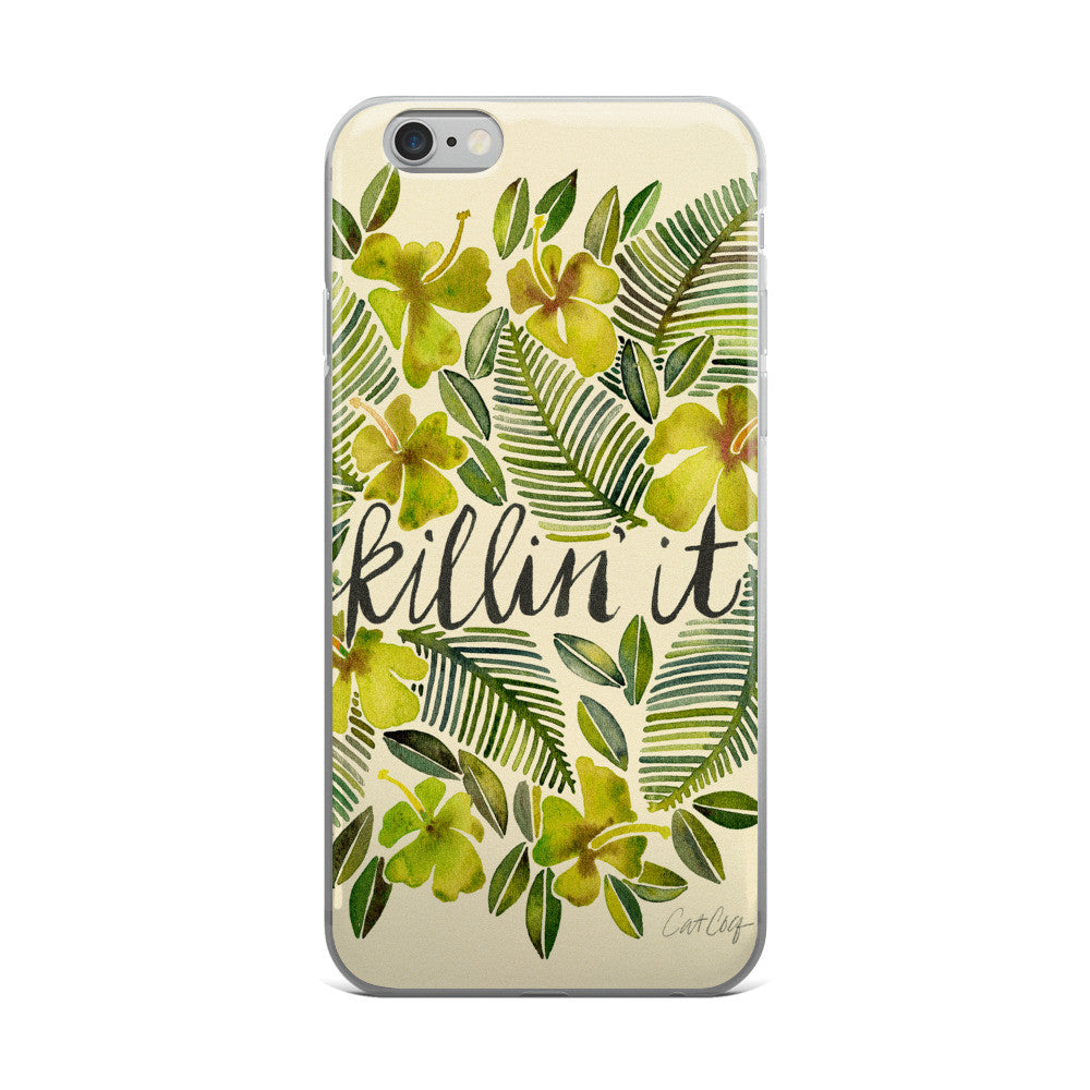 Killin' It – Yellow Palette  •  iPhone 5/5s/Se, 6/6s, 6/6s Plus Case