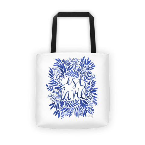 That's Life – Navy Palette  •  Tote Bag