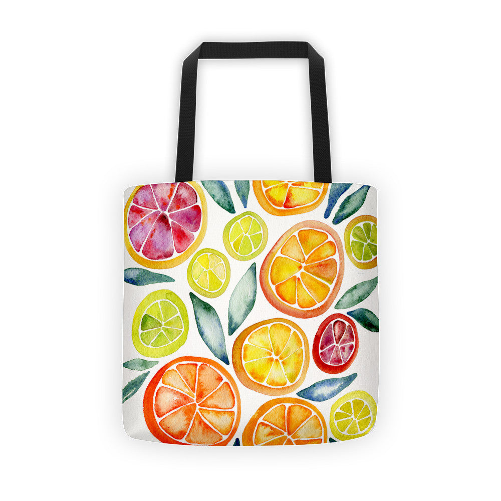 Citrus Slices  •  Tote Bag