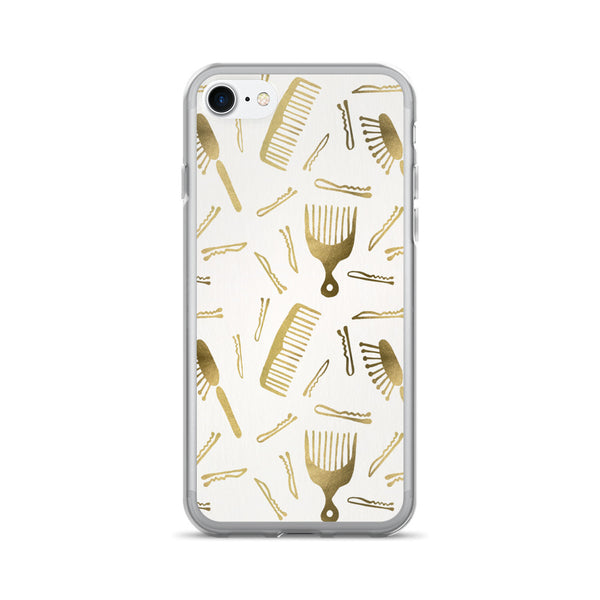 Good Hair Day – Gold Palette • iPhone 7/7 Plus Case