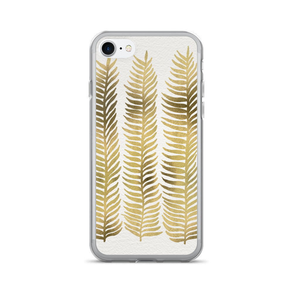 Stems – Gold Palette • iPhone 7/7 Plus Case