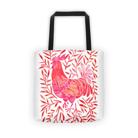 Le Coq – Red Palette • Tote Bag