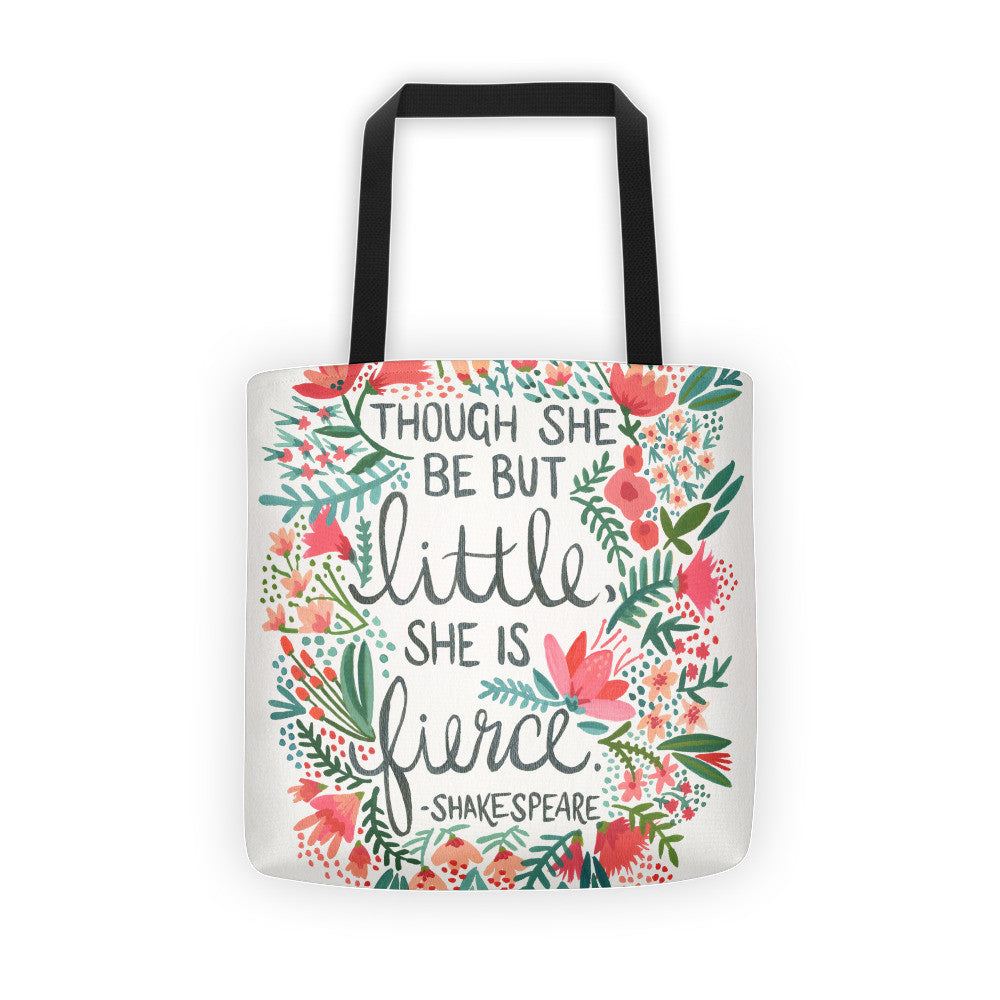 Little & Fierce  •  Tote bag