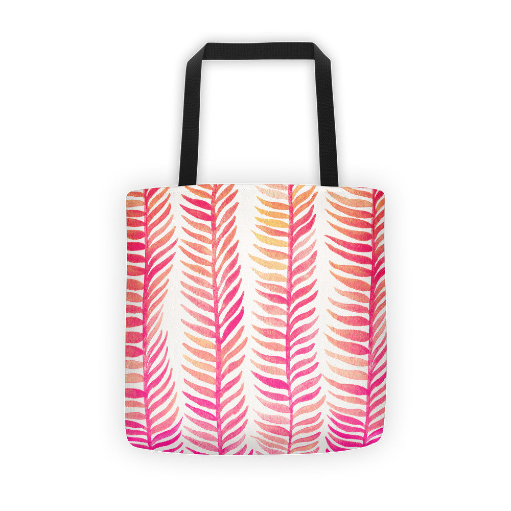Stems – Pink Palette  •  Tote Bag
