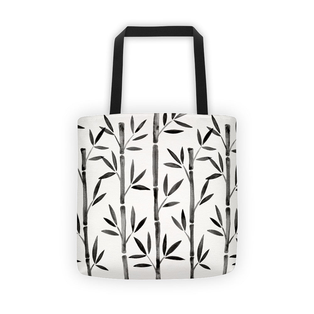 Bamboo – Black Palette  •  Tote Bag